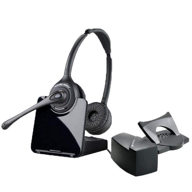 Cordless Headset + Lifter
