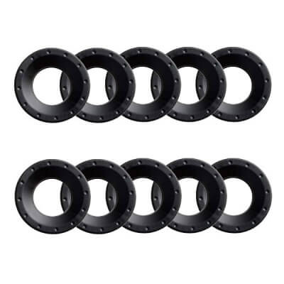 10 x Ear Plates for Jabra GN 9120 and 2100 Headsets