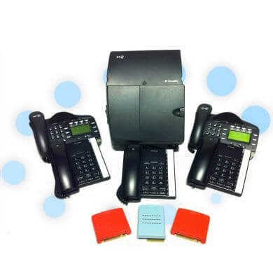 BT Versatility Phone System with 3 x ISDN 2e and 5 Handsets