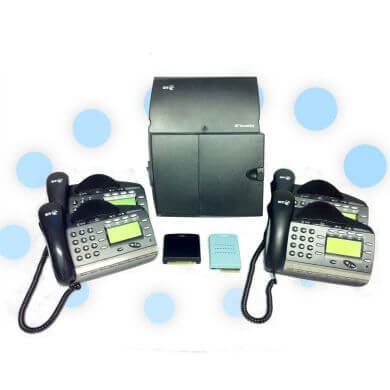 BT Versatility Phone System with 2 x Analogue and 4 x V8 Handsets