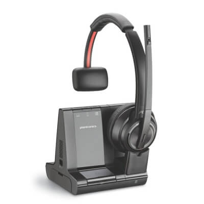 Plantronics Savi 8210-M DECT Headset for Hard of Hearing