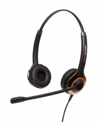 Agent 850 PLUS Duo Noise Cancelling Headset