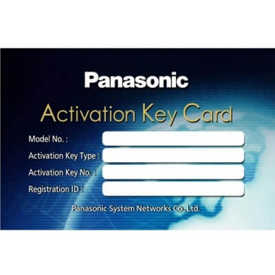 Panasonic NCP KX-NCS3104WJ (4 Channel SIP Gateway Activation)