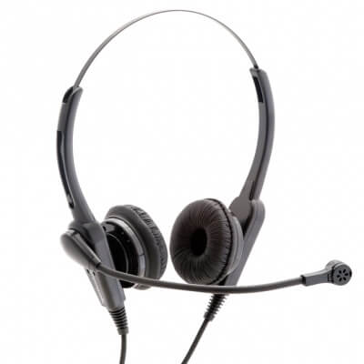 Agent 400 Duo Headset Noise Cancelling Headset