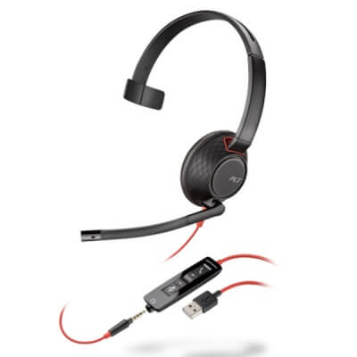Plantronics Blackwire Monaural C5210 USB Headset