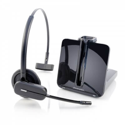 Polycom VVX 101 Cordless Plantronics Headset with Lifter