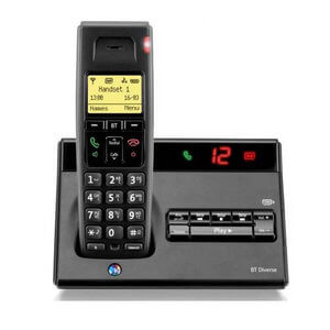 BT Diverse 7150 Single Cordless Telephone