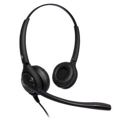 JPL 502S Advanced Dual Ear Noise Cancelling Headset