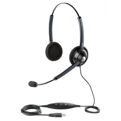 Jabra BIZ 1900 USB Duo Headset for Dragon Dictate
