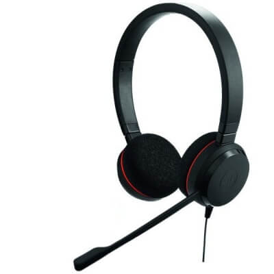 Jabra Evolve 20 MS Teams Stereo Corded USB Headset