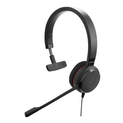 Jabra Evolve 20 SE Mono MS USB Corded PC Headset