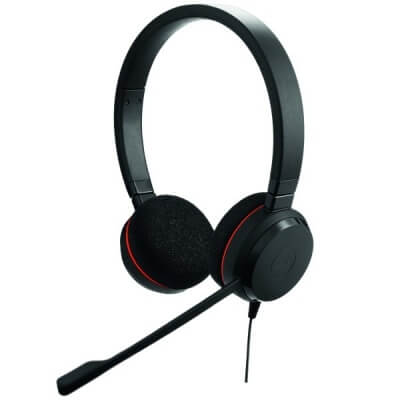 Jabra Evolve 20 UC Stereo USB Corded PC Headset