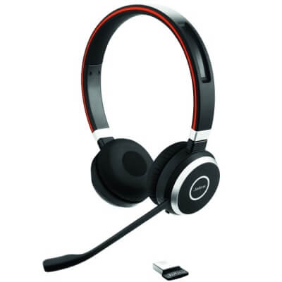Jabra Evolve 65 UC Stereo Headset for Dragon Dictate
