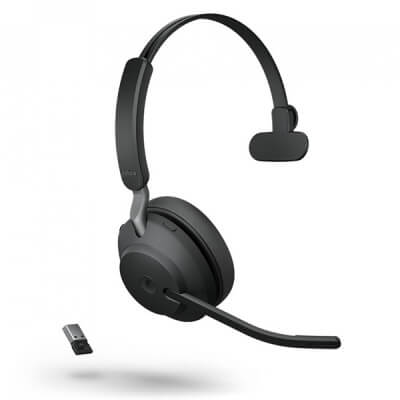 Jabra Evolve2 65 UC Mono Bluetooth PC Headset