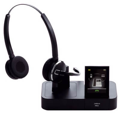Jabra PRO 9465 Stereo 3 in 1 Cordless Headset