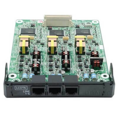 Panasonic NS700 LCOT6 Card (6 Port Analogue Line Card)