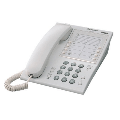 Panasonic KX-T7710E Hotel Telephone in White