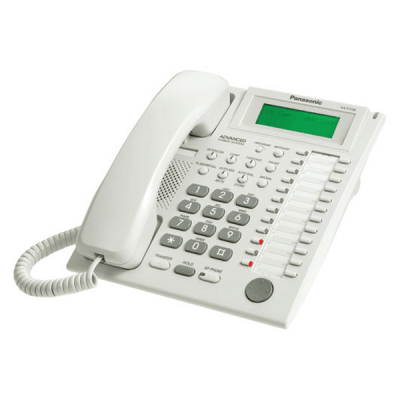Panasonic KX-T7735E Telephone in White
