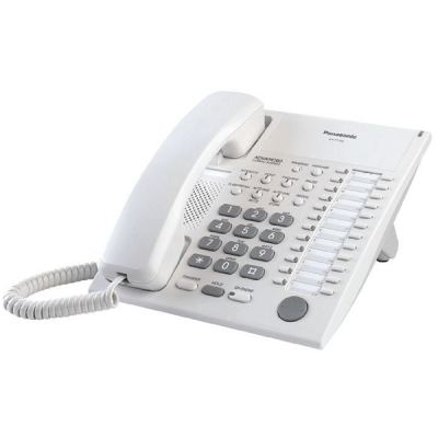 Panasonic KX-T7750E 12 key Telephone in White