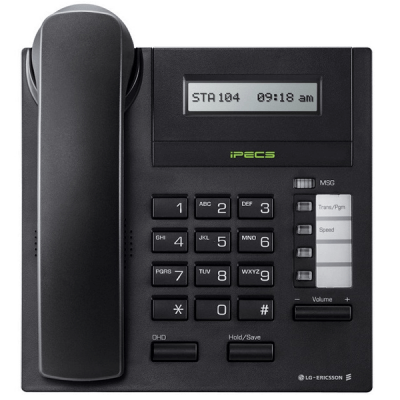 LG LDP-7004D Telephone in Black with LCD Display