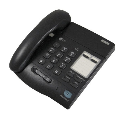 LG LKD-2NS Telephone in Black