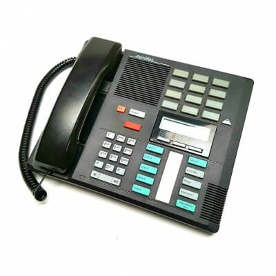 Meridian Norstar M7310 Telephone in Charcoal Black