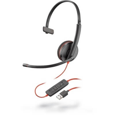 Plantronics Blackwire 3210 USB PC Headset - Ex Demo
