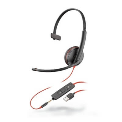 Plantronics Blackwire 3215 Corded PC USB Headset