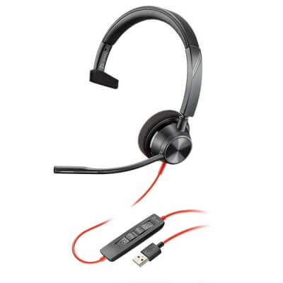 Plantronics Blackwire 3310 Mono USB Headset