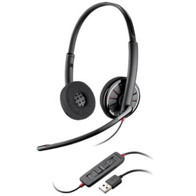 Plantronics Blackwire C320 Corded USB Headset