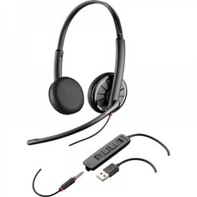 Plantronics Blackwire C325J Corded USB Headset