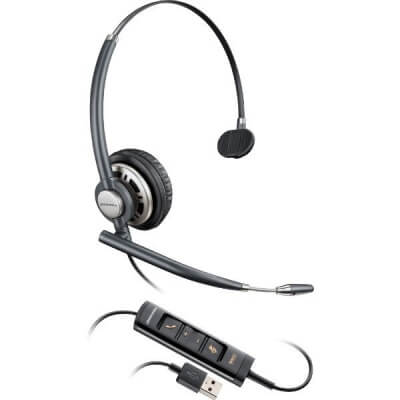 Plantronics EncorePro HW715 USB Mono PC Headset