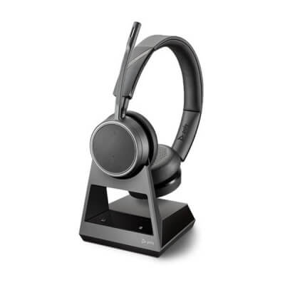 Plantronics Poly Voyager 4220 Office UC Headset With 2-Way Base