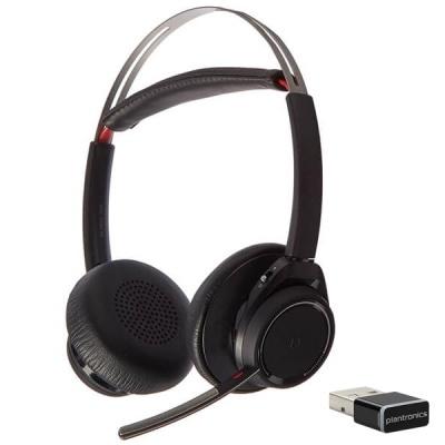 Plantronics Voyager Focus Uc B825 M Headset With Base Fully Refurbished Plantronics 202652 02 Headset Store