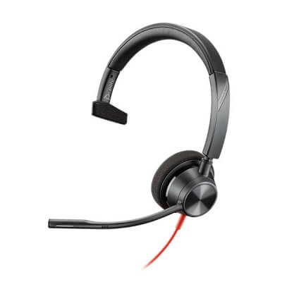 Plantronics Blackwire 3315-M USB MS Teams PC Headset with 3.5mm