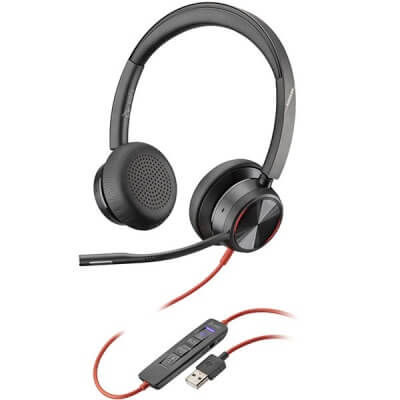 Plantronics Blackwire 8225-M USB Headset - Microsoft Teams
