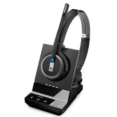 Sennheiser SDW 5065 Binaural DECT Wireless Headset - PC & Deskphone