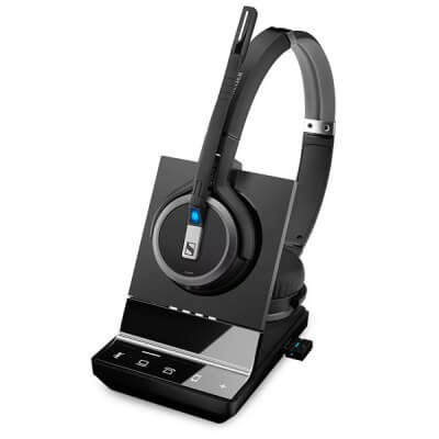 Sennheiser SDW 5066 Binaural DECT Wireless Headset - PC, Deskphone & Mobile
