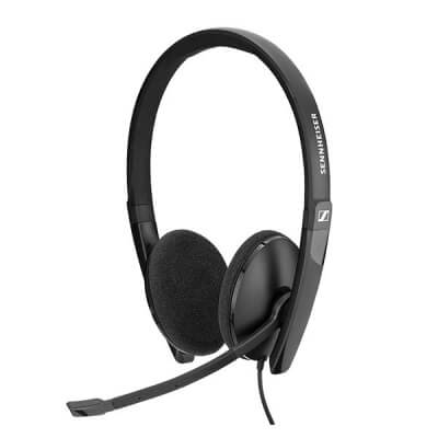 Sennheiser SC 165 Stereo Headset (3.5mm Only)