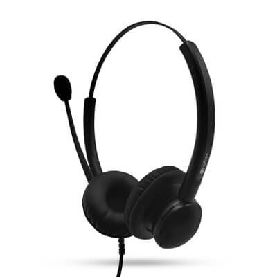 Vega 100B Double Ear Noise Cancelling Headset