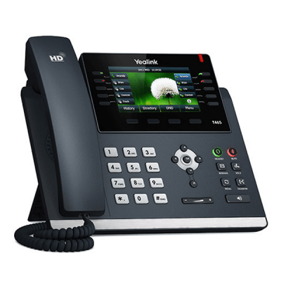 Yealink T46S VoIP / SIP Phone (SIP-T46S) with POE