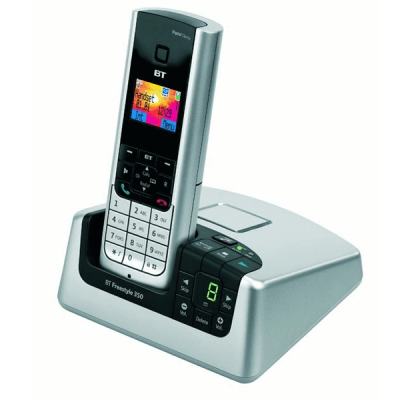 BT Freestyle 350 Twin Cordless Telephone