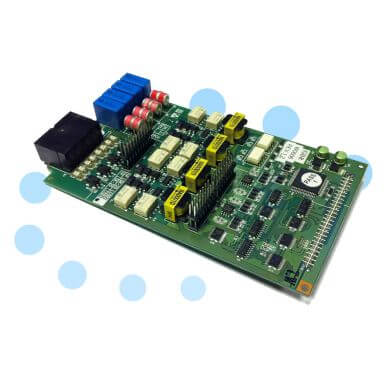 LG IPLDK-20 LCOB4 4 Analogue Line Card