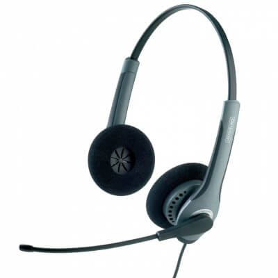 Jabra GN2000 Duo Headset Including GN1200 Smart Cord