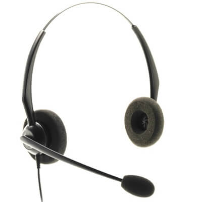 Aastra 6730i Dual Ear Noise Cancelling Headset