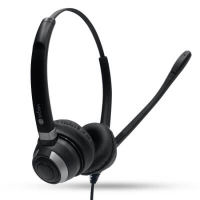 Alcatel 4039 Binaural Noise Cancelling Headset