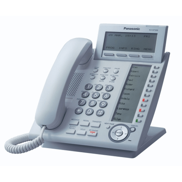 Panasonic KX-NT366 IP Telephone in White