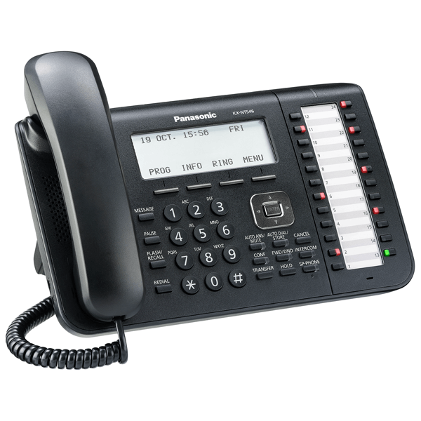Panasonic KX-NT546 Telephone in Black