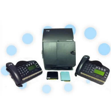 BT Versatility Analogue Phone System with 2 x V8 Handsets