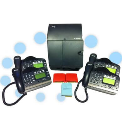 BT Versatility Phone System - 3 x ISDN 2e and 4 x V8 Handsets